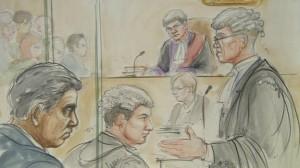 court sketch